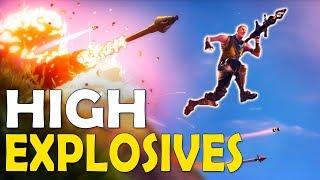 Download HIGH EXPLOSIVES V2 | HOW DID I SURVIVE!? | CRAZY INTENSE GAME - (Fortnite Battle Royale) Video