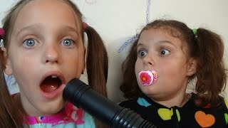 Download Bad Baby Victoria Vacuum Attacks Annabelle & Crybaby Daddy Toy Freaks Babies Video