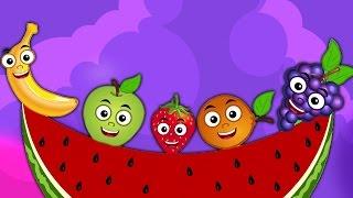 Download Frutas Familia Del Dedo | Rimas i para bebés | Nursery Rhymes | Kids Songs | Fruits Finger Family Video