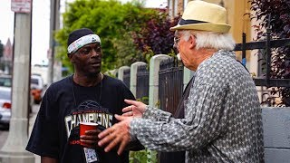 Download Grandpa Beatboxes in the Hood Video