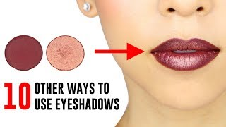 Download 10 Ways You Didn't Know You Could Use Your Eyeshadows Video