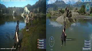 Download FINAL FANTASY XV - Duscae Gameplay and Graphics Comparison 2015 Demo Vs 2016 Final Build Video
