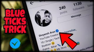 Download How to get the Blue Tick on Instagram Instantly ? 🔥🔥🔥 ✔ Video
