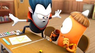 Download Spookiz | Don't Cross The Line ! | Kids Cartoon | Funny Cartoon | WildBrain Cartoons Videos For Kids Video
