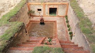 Download Amazing Man Dig To Build Underground House & Great Underground Swimming Pool Video