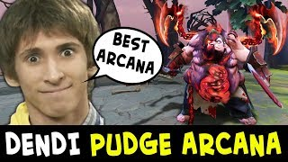 Download Dendi + PUDGE ARCANA first time — BEST mid Pudge in Dota Video