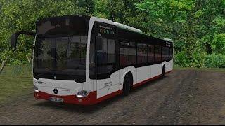 Download OMSI 2. Map Wąbrzeźno (PKP - PKS), Mercedes-Benz Citaro C2. Video