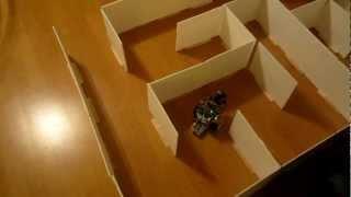 Download Arduino maze-solver and wall-follower robot Video