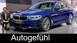 Download BMW 5-Series Touring REVIEW 5er Touring G31 neu all-new Geneva Motor Show - Autogefuehl Video