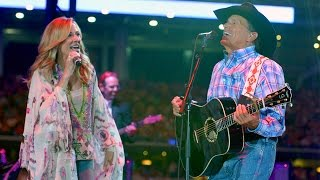 Download George Strait & Sheryl Crow - ″Here For a Good Time″ (Live, 2014) Video