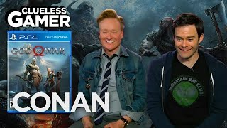 Download Clueless Gamer: ″God Of War″ With Bill Hader - CONAN on TBS Video