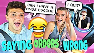 Download Mispronouncing Our Drive-Thru Orders *HILARIOUS* Video