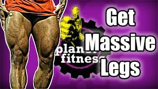 Download Planet Fitness Leg Workout | 4k Video