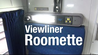 Download Amtrak Viewliner Roomette - Complete Tour/Review Video
