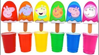 Download Dye Coloring Ice Cream Popsicles with Mrs Rainbow Video