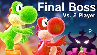 Download Yoshi's Crafted World - Final Boss + Ending (2 Player Co-Op) Video