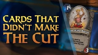 Download Hearthstone - Cards that Didn't Make the Cut Video
