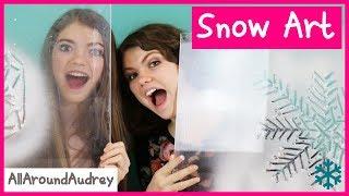 Download SPRAY SNOW FROST ART CHALLENGE / AllAroundAudrey Video