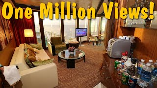 Download The Luxurious $1600 Per Night Cruise Ship Suite Video