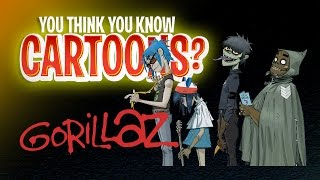 Download Gorillaz - You Think You Know Cartoons? Video