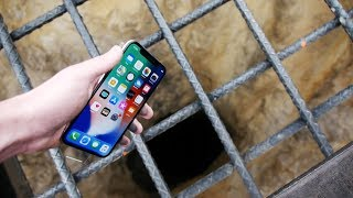 Download Dropping an iPhone X Down 4000 FT Deep Hole! - What's In There? Video