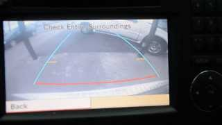 Download Mercedes-Benz Backup Camera through Factory COMAND Center Video