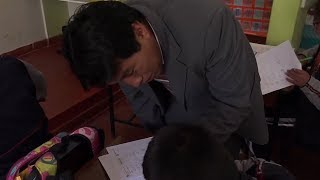 Download Teachers strike in Peru for stronger education budget Video