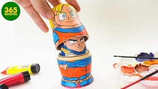 Download INCREIBLE IDEA DIY – Matrioshka de Dragon Ball - Painting: Matryoshka Tribute Dragon ball Video