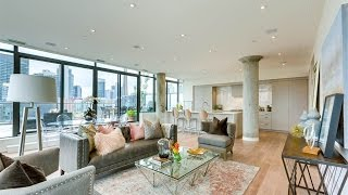 Download The Contemporary Fashion House Penthouse in Toronto, Canada Video