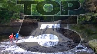Download Top 5 Waterfalls in Indiana Video
