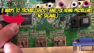 Faulty HDMI Port on LG Television  No Signal Fault Free Download