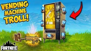Download *NEW* VENDING MACHINE TROLL! - Fortnite Funny Fails and WTF Moments! #155 (Daily Moments) Video