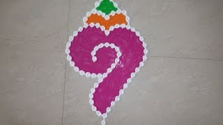 Download Dot's Rangoli Design 4 by 1 (NEW) Video