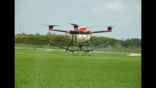 Download agricultural drone/ agricultural UAV spraying/fumigation Operation Introduction Video