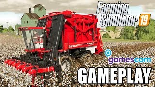 Download FARMING SIMULATOR 19 | GAMEPLAY - First Look (Gamescom) Video