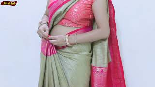 Download How To Wear Perfect Saree | Proper Pleats Tricks & Tips | ऐसे पहने साड़ी by Jiilahub Video