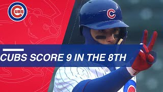 Download Cubs come back with nine-run 8th inning Video