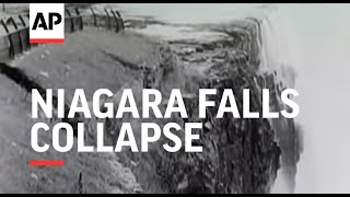 Download Niagara Falls Collapse - 1954 Video