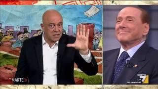 Download Copertina di Crozza: Berlusconi vota come Travaglio, è come vedere Marchionne che limona con Landini Video