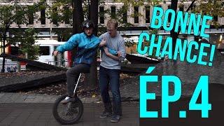 Download BONNE CHANCE ép.4 : APPRENDRE L'UNICYCLE EN 5 MIN / MONOCYCLE (avec GARNEMENTS inc.) Video