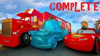 Download Lightning McQueen Mission Story of The FROZEN MATER Movie CARS 3 4 KIDS and DISNEY PIXAR Princess Video