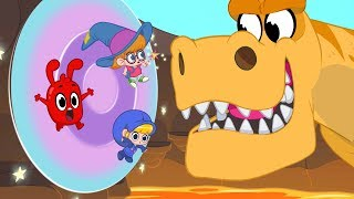 Download Morphle's Magic Portals - Magic Adventures with Friends (Fantasy Race cars and dinosaurs for Kids! Video