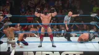 Download Tag Title Match: The Wolves vs. The Menagerie vs. the BroMans (July 3, 2014) Video