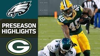 Download Eagles vs. Packers | NFL Preseason Week 1 Game Highlights Video