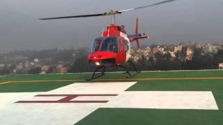 Download First Official Helicopter landing at GRANDE INTERNATIONAL HOSPITAL Video