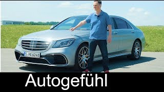 Download Mercedes S63 AMG FULL REVIEW S-Class Facelift S-Klasse 2018 - Autogefühl Video