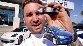Download TRADED MY PORSCHE PANAMERA S FOR A TESLA MODEL X! Video