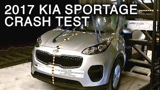 Download 2017 Kia Sportage Side Pole Crash Test Video