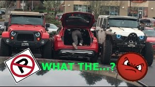 Download 2 Jeeps gives lesson to Mercedes how NOT to park Video