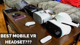 Download Lenovo Mirage Solo vs. Oculus Go vs. Gear VR vs. Google Daydream Video